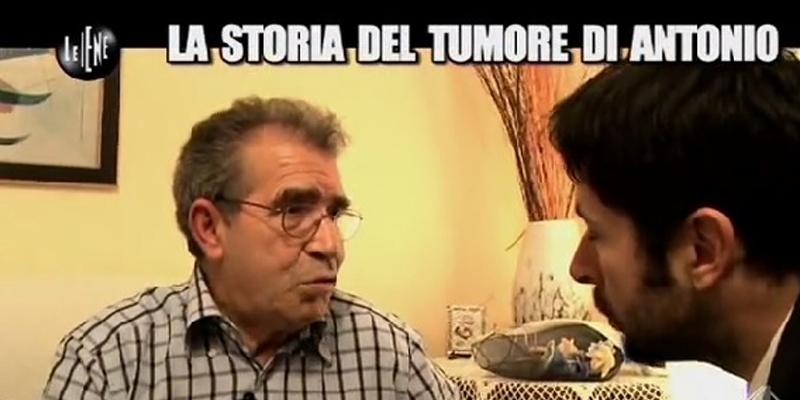 Storia del tumore di Antonio, come ne è guarito – Le Iene puntata del 5 Marzo 2014